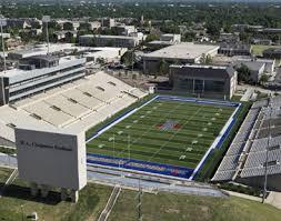 Tu Football Stadium Seating Chart 49 True To Life Chapman Stadium Tulsa Seating Chart