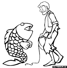Small Picture The Fisherman And His Wife Coloring Page Free The Fisherman And