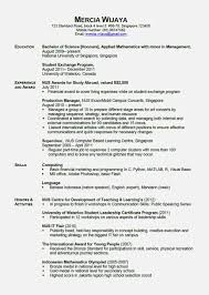 Nice Stay At Home Mom Resume Template Resume Template For Free