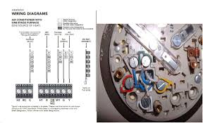 honeywell thermostat wiring diagram rth230b wiring diagram and how to install a honeywell rth230b programmable thermostat ehow honeywell programmable thermostat wiring diagram