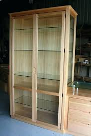 small curio cabinet with glass doors curio cabinets with glass doors the most elegant display cabinet