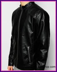 awesome states men black produkt faux leather jacket with image of quilted shoulder ideas and concept