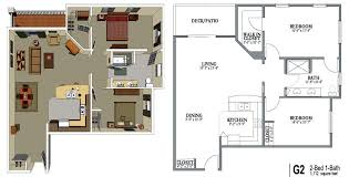 Two Bedroom Apartments Fort Wayne  Montrose Square ApartmentsApartments Floor Plans 2 Bedrooms