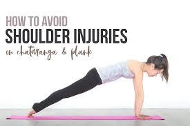 avoid shoulder injuries in chaturanga