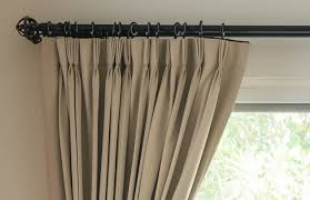 unless you want your curtains to touch the floor or to knock up a little the norm is to leave a 1cm or ½ gap between the bottom edge of the hem and the