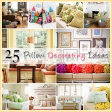 How To Decorate A Pillow