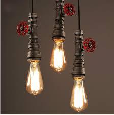 lukloy pendant lights lamp shade industrial vintage plumbing retro kitchen pendant lamp light for cafe