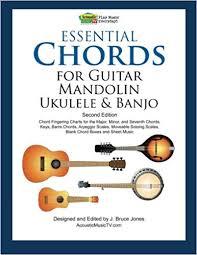 Essential Chords For Guitar Mandolin Ukulele And Banjo