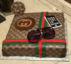 I Had The Opportunity To Make This Gucci Replica Cake For Someone