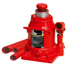 20-Ton Low-Profile Bottle Jack Big Red Jack-T92007A - The Home Depot