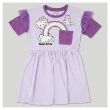hello kitty bathroom set sears. toddler girls\u0027 hello kitty a line dress - lilac bathroom set sears
