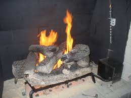 installing gas fireplace logs fireplaces and electric logs for existing fireplace