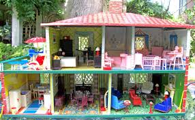 Ultimate 1948 T Cohn Tin Colonial Dollhouse Furnished Renwal ...