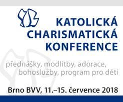 Výsledek obrázku pro charismatická konference 2018