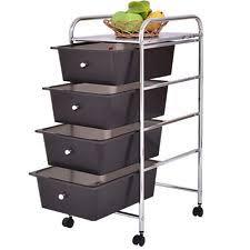 office rolling cart. interesting cart 4 drawers chrome studio organizer rolling cart scrapbook supply u0026 paper  office inside