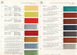 Glasurit Color Chart Glasurit Bmw Colours Chart E9 Era Bmw E9 Coupe