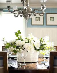 flowers on dining table for fl arrangement keep things fresh with a monochromatic centerpiece dining table flowers on dining table