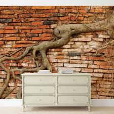 wall mural photo wallpaper l old brick wall