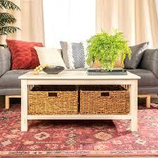 a leftward chevron rightward baskets for under coffee table