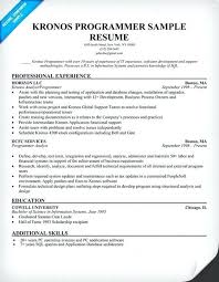 Mainframe Programmer Resume Programmer Analyst Resume Foodcity Me