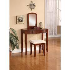 linon home decor molly 2 piece cherry vanity set 58028chy