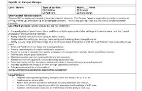 resume beguiling server job resume objective striking server job