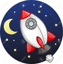 Image result for cartoon rocket