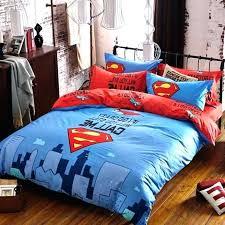 superman bedding set queen size bed sets 2 cabin batman v sheets single cover s