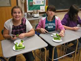 cooking with the spanish club middleburgh central school