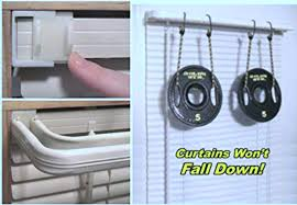 hang curtain rods without needing any