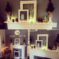 Fairy Lights For Mantle Here Is My Winter Mantle Design Using Fairy Lights And Ball