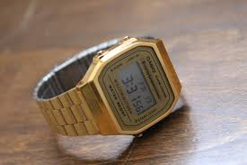 casio a168wg 9 retro gold watch review