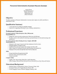 Letter Examples 12 Office Assistant Resume Objective Best For An