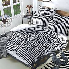 gray and white striped bedding photo 1 of black and white striped sheet set navy blue