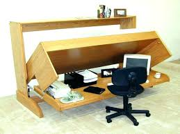 folding computer desk foldaway with wheels table uk