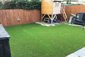 artificial turf made our garden safe child friendly
