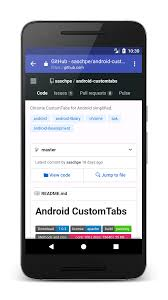 Android Tabs Chrome Custom Tabs For Android Saschas Hideout