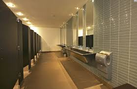 Phenolic Stainless Steel Toliet Partitions Willsëns Architectural Cool Commercial Bathroom Partitions Property