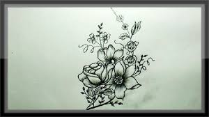 Designs For Drawing Easy Cool Easy Drawings Pencil Drawing A Beautiful Flower Design