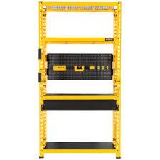 dewalt 4 ft yellow double stack work bench kit