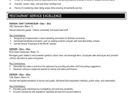 Waitress Resume Sample Skills Job And Template Examples Photo