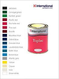 International Toplac Colour Chart Toplac Paint Chart