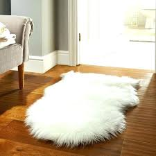 faux fur rug white sheepskin rugs in bedroom interior decorating 8x10
