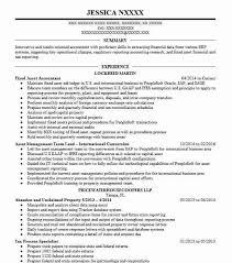 Fixed Asset Accountant Resume Sample | Accountant Resumes | Livecareer
