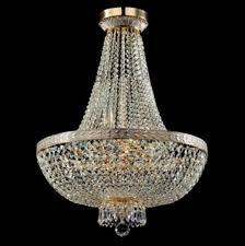 Casa Padrino Barock Kristall Decken Kronleuchter Weiß Gold 50 X H 65 Cm Antik Stil Möbel Lüster Leuchter Deckenleuchte Hängelampe