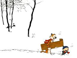 calvin and hobbes snow days day one