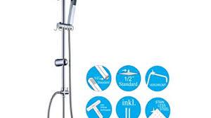 Joho 304 Edelstahl Duschset Duschsystem Regenduschset Mit
