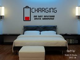 Children Teenager Adult Bedroom Wall Sticker Wall Art Charging Do ...