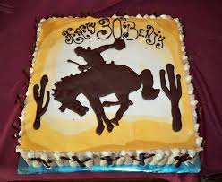 Wild West Horse Rider Birthday Cake Elisabeths Wedding Cakes