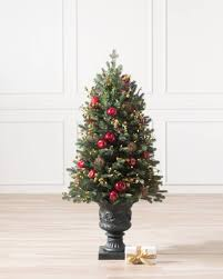 Tree Alt Norway Spruce Holiday Potted -1 .